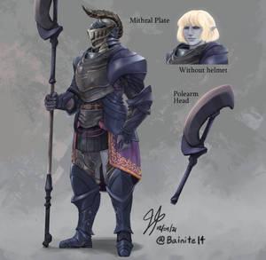 Grappa Salernus, Eladrin Battlemaster