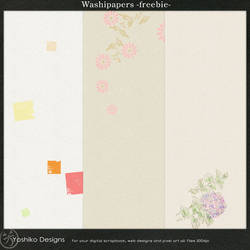 Washi papers