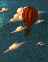 Over the Wide Open Ocean by Agent-Jolliday