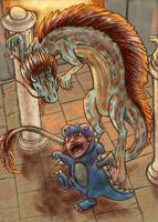 Perplexed Dragon by Agent-Jolliday