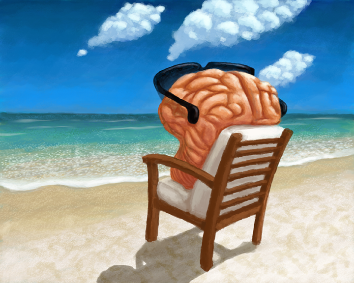 My Brain On Vacation