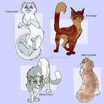 some thunderclan cats