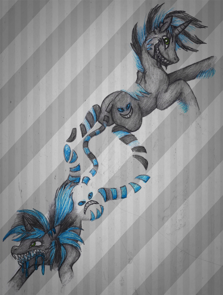 Disappearing Stripes by aisu-isme