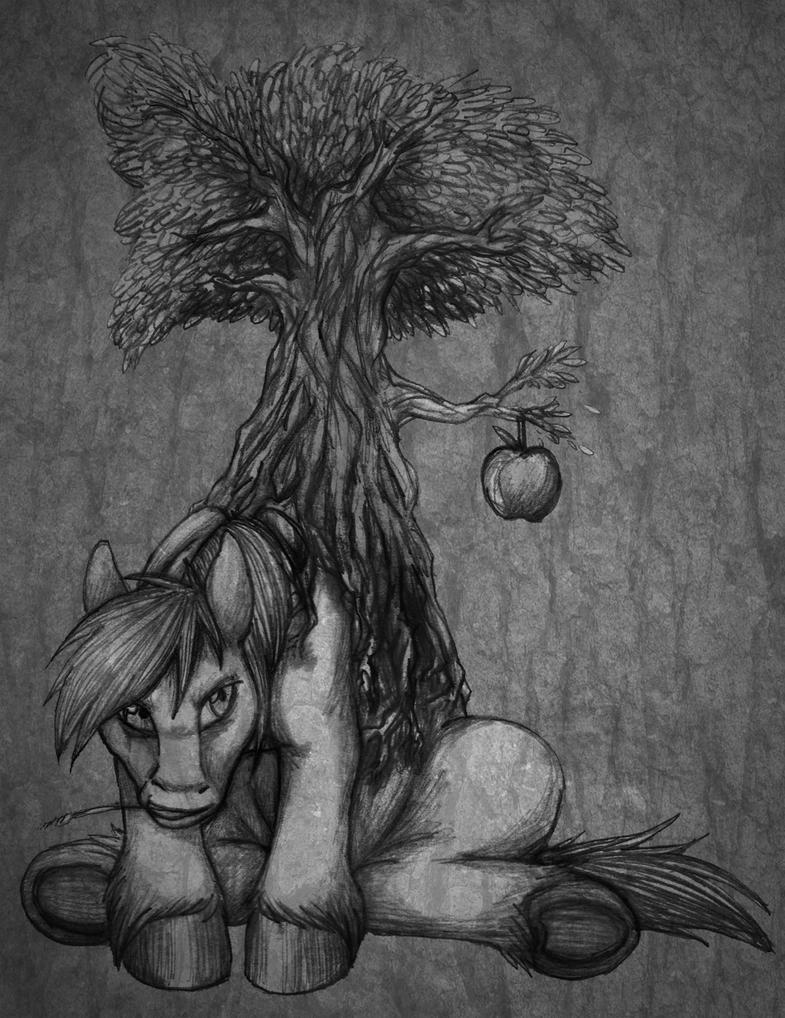 The Macintosh Tree by aisu-isme
