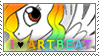 Artbeat Stamp by aisu-isme