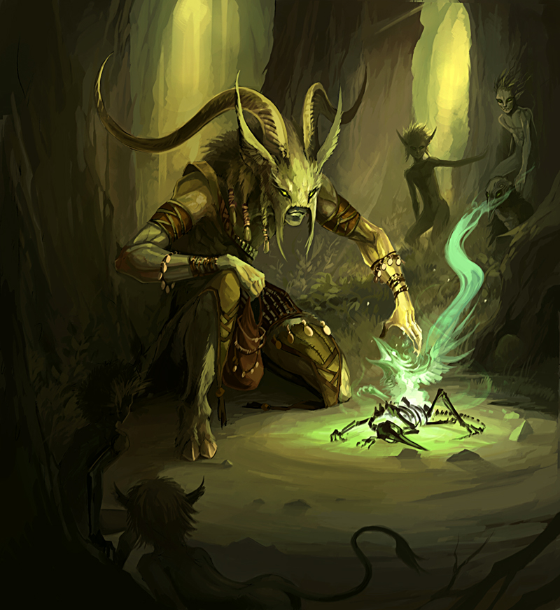 Pictures of Lizardfolk Shaman - #rock-cafe
