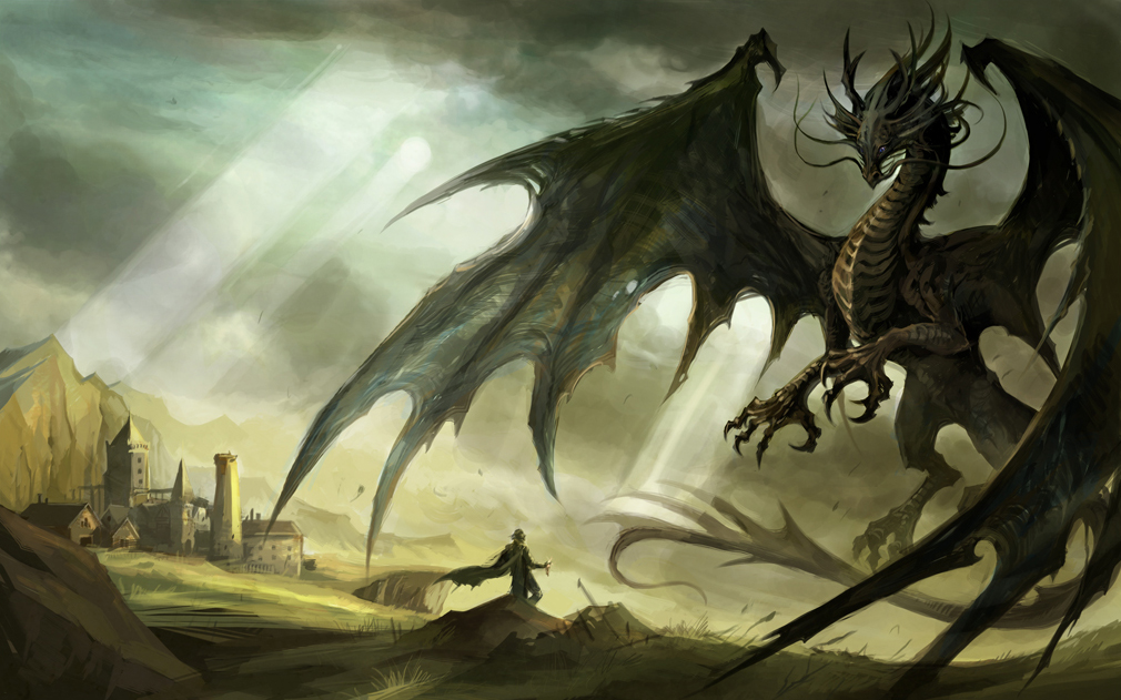Fantasy Video Games Dragons Ar.