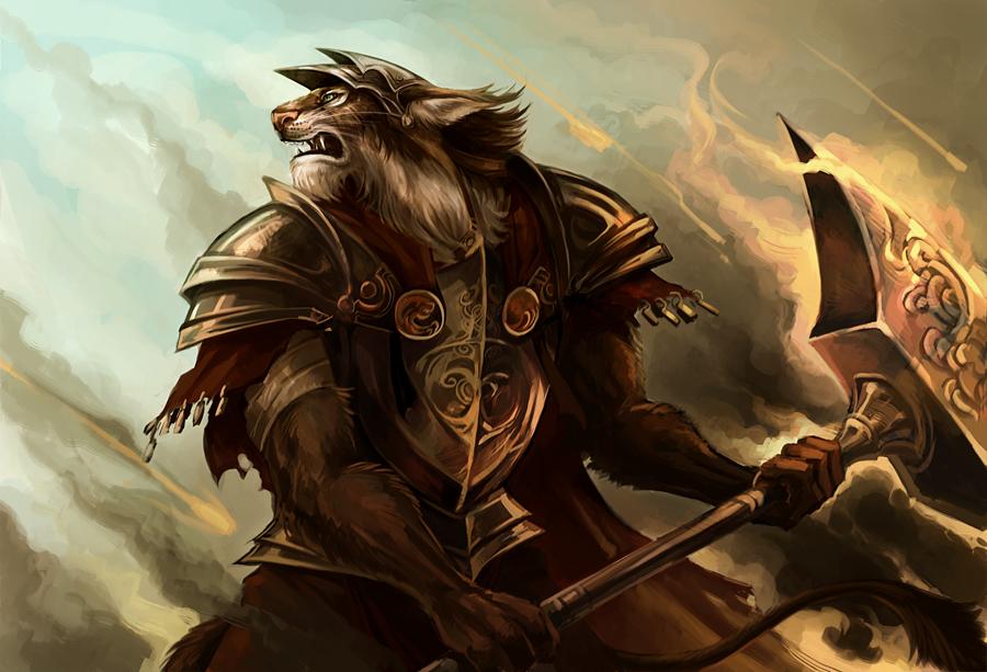 Lynx warrior by sandara