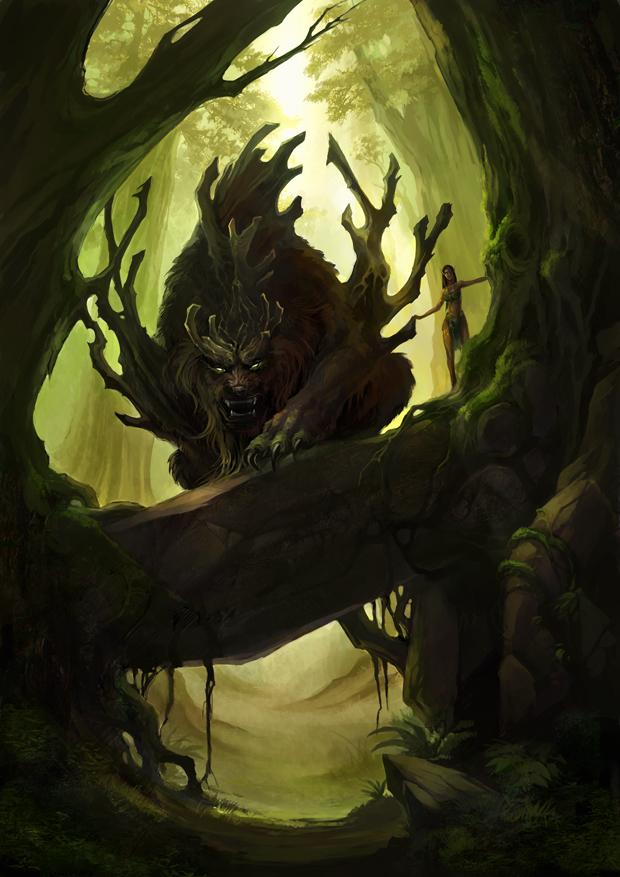 [Devil Bats] La Cacería - RUN Bear_by_sandara