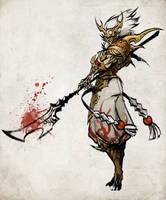 dragon warrior by sandara