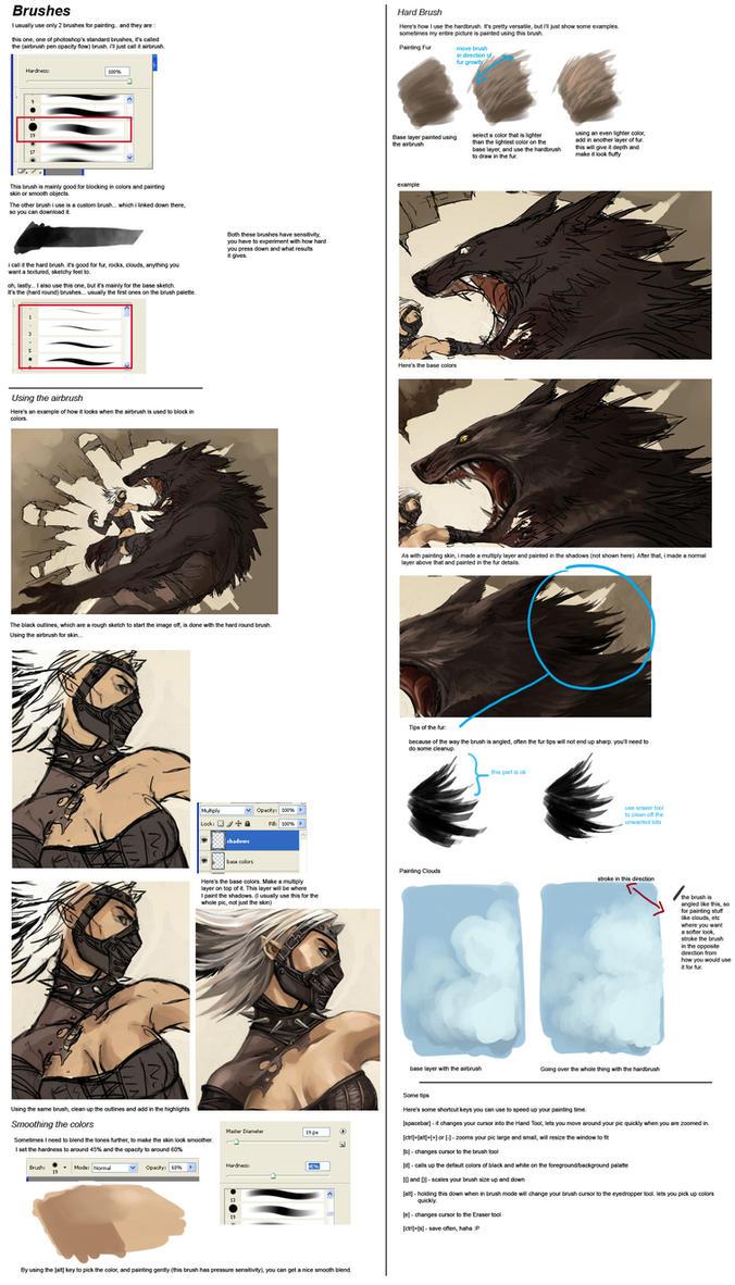 Basic brush tutorial by sandara on deviantart baditri Choice Image