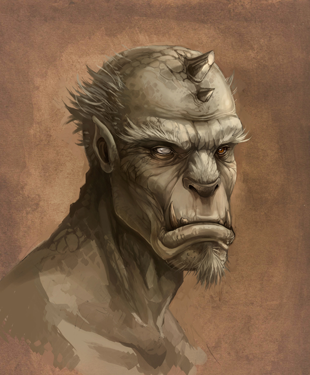 old man by sandara