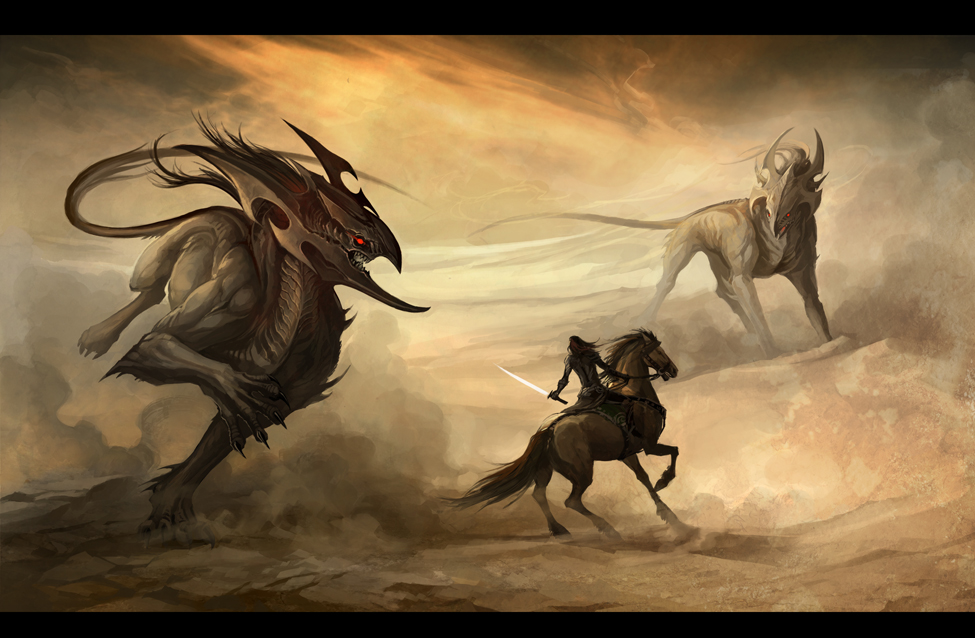 desert demons by sandara