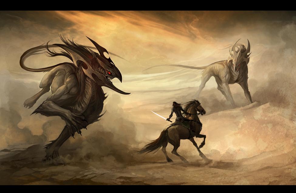 desert demons by sandara