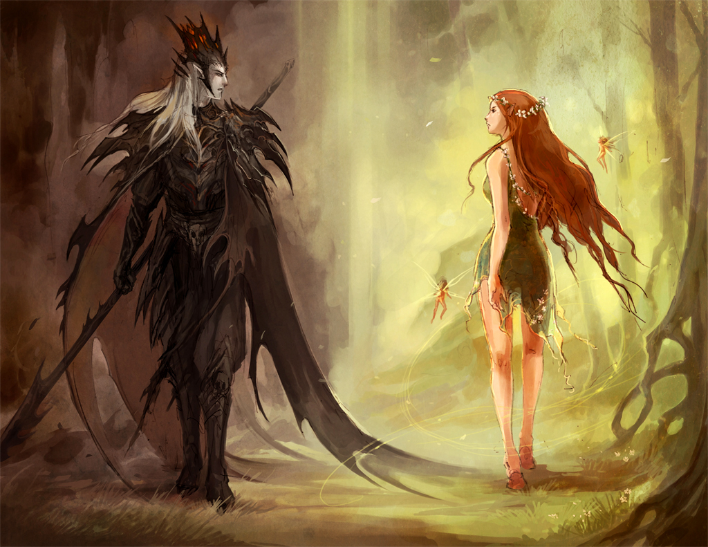Hades And Persephone 1 By Sandara On Deviantart