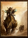Tauren hunter and pet
