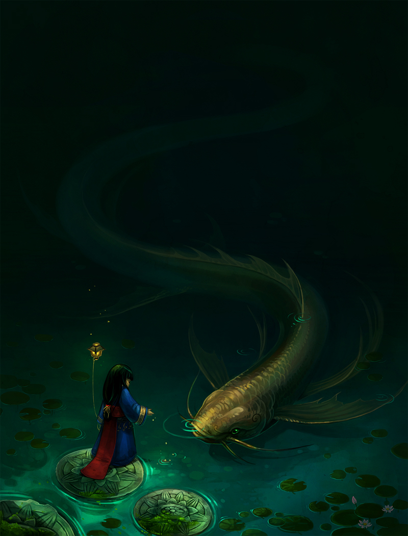 princess and fish by sandara