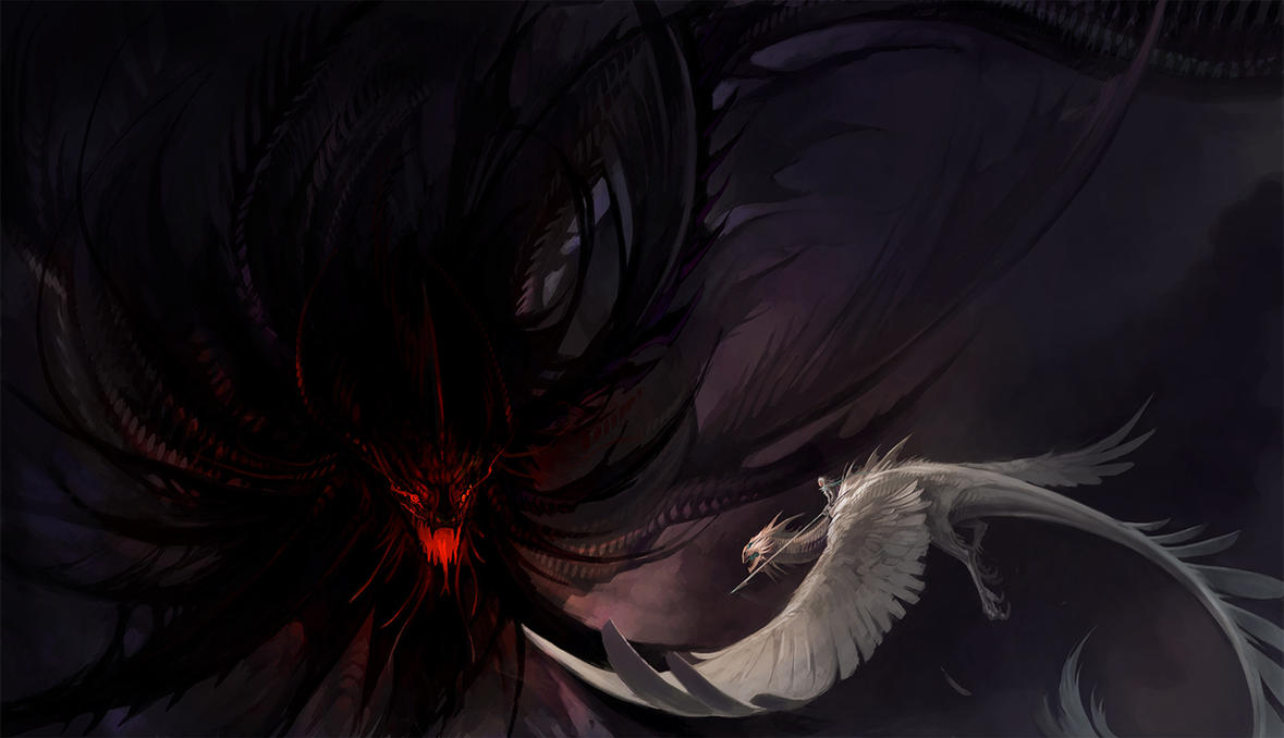 Against the darkness by sandara