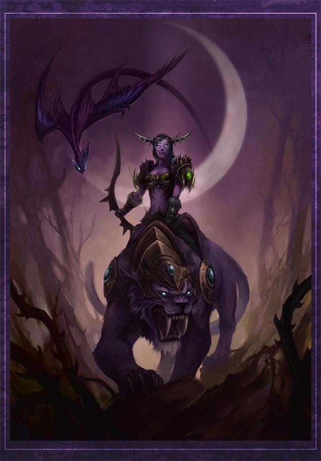 huntress moon by sandara