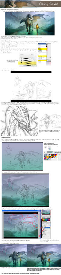 Coloring tutorial - 01