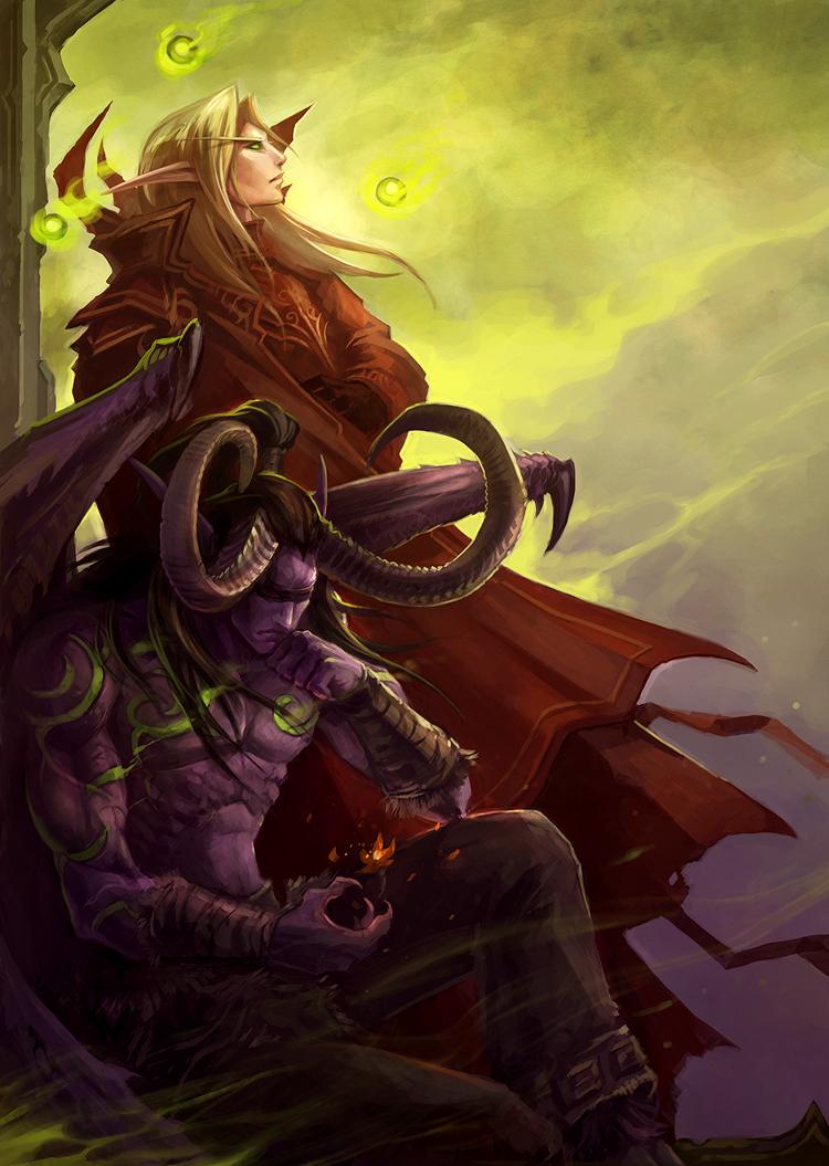 Warcraft yaoi anime comics