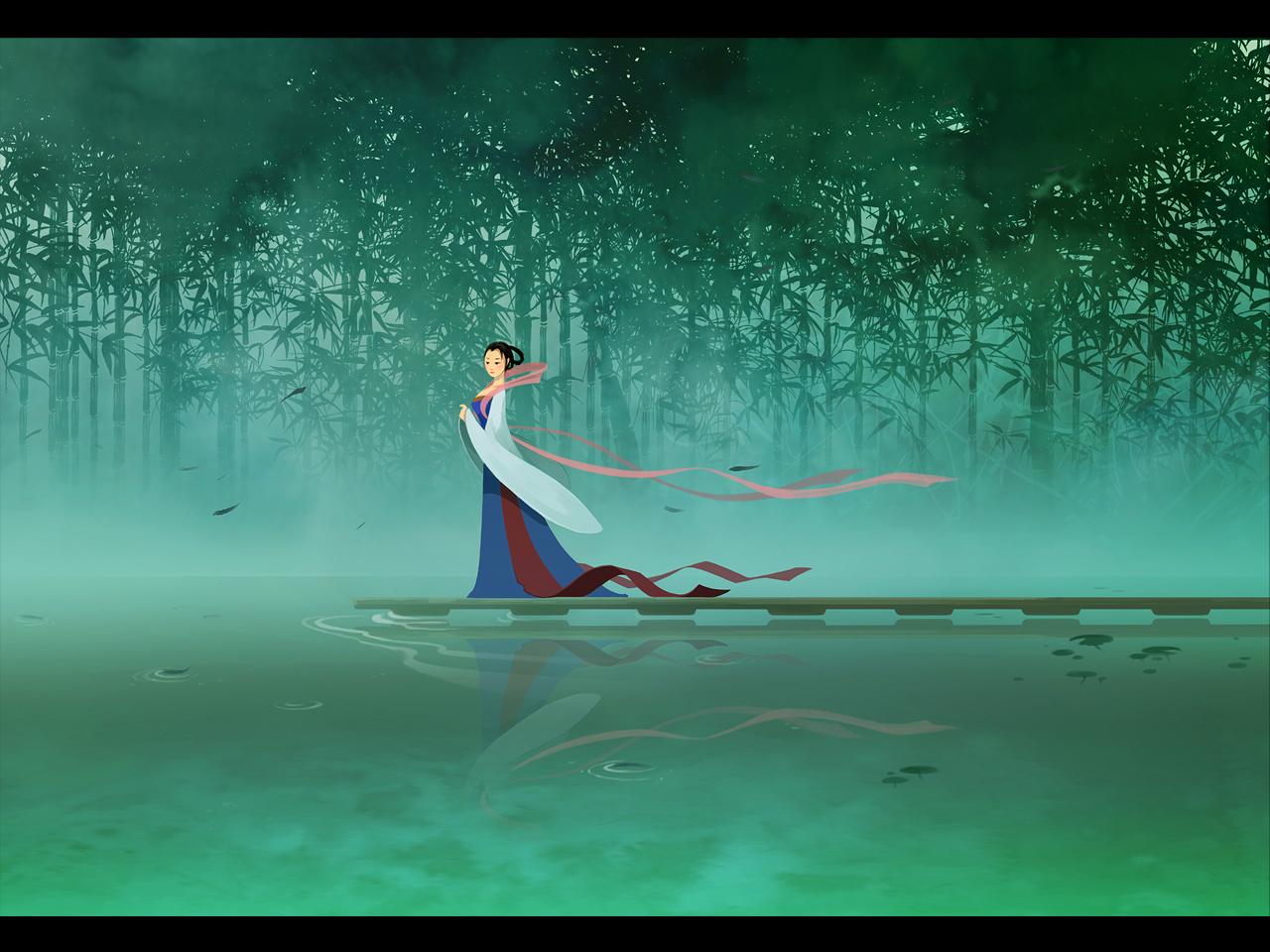 chinese lady by sandara