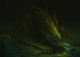forest dragon by sandara