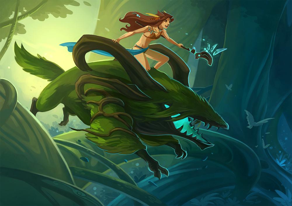run through the jungle by sandara