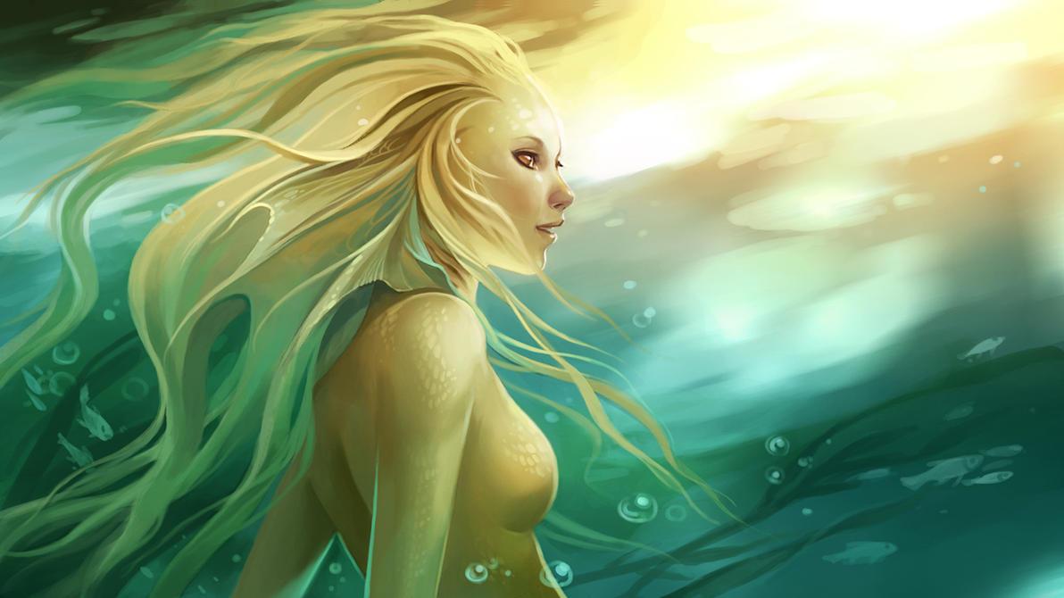 watersprite by sandara