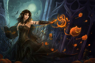 halloween by sandara