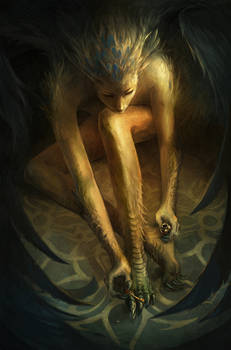 vain harpy