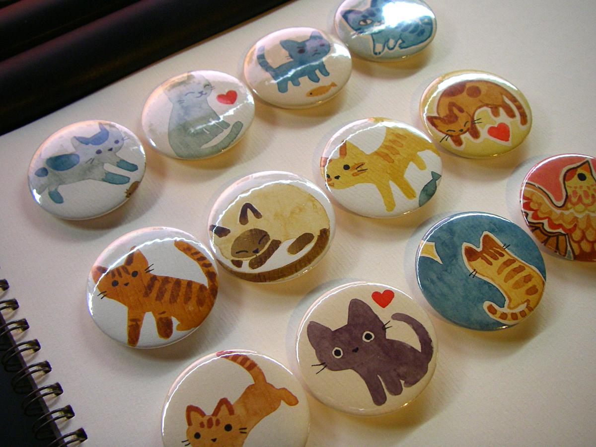 badges :D by sandara
