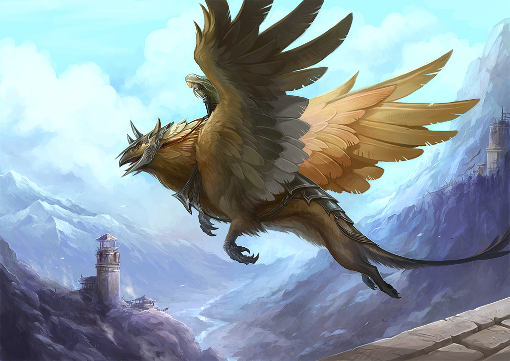Griffin by sandara on deviantart for The griffin