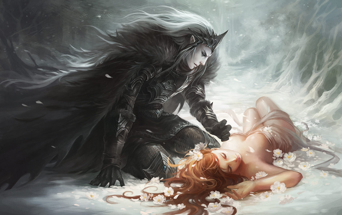 Hades And Persephone 2 By Sandara On Deviantart