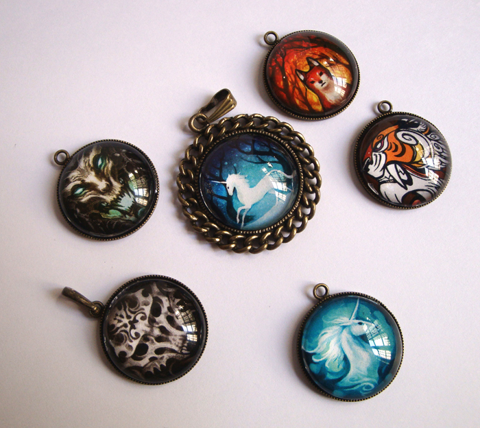 Pendants by sandara