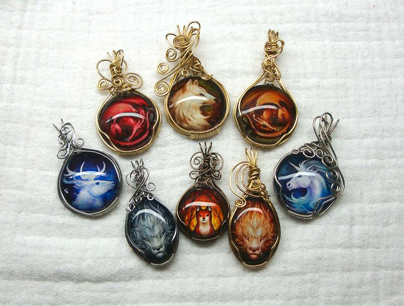 Pendants part 3 by sandara on deviantart pendants part 3 by sandara mozeypictures Choice Image