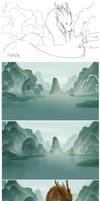 river process by sandara