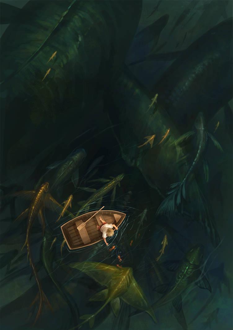 fishing by sandara
