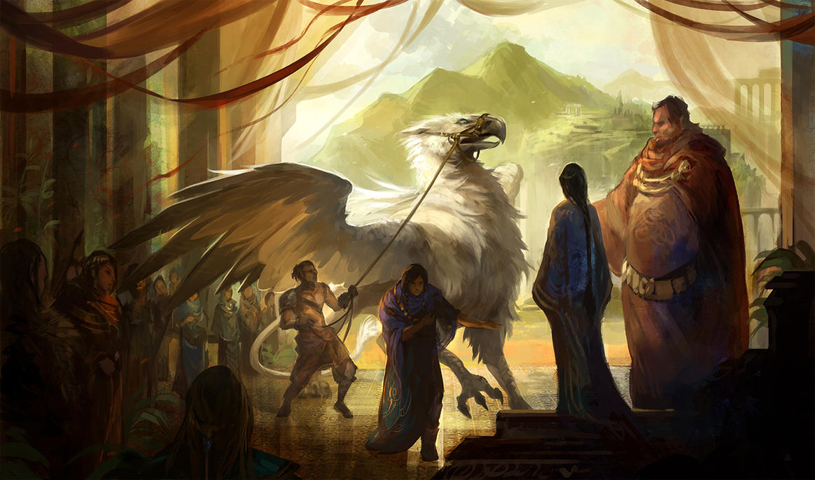 The white griffin by sandara on deviantart for The griffin