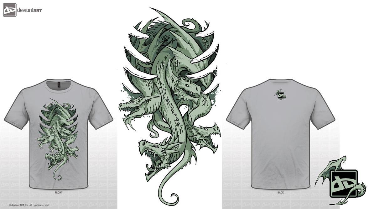 Dragons tshirt by sandara