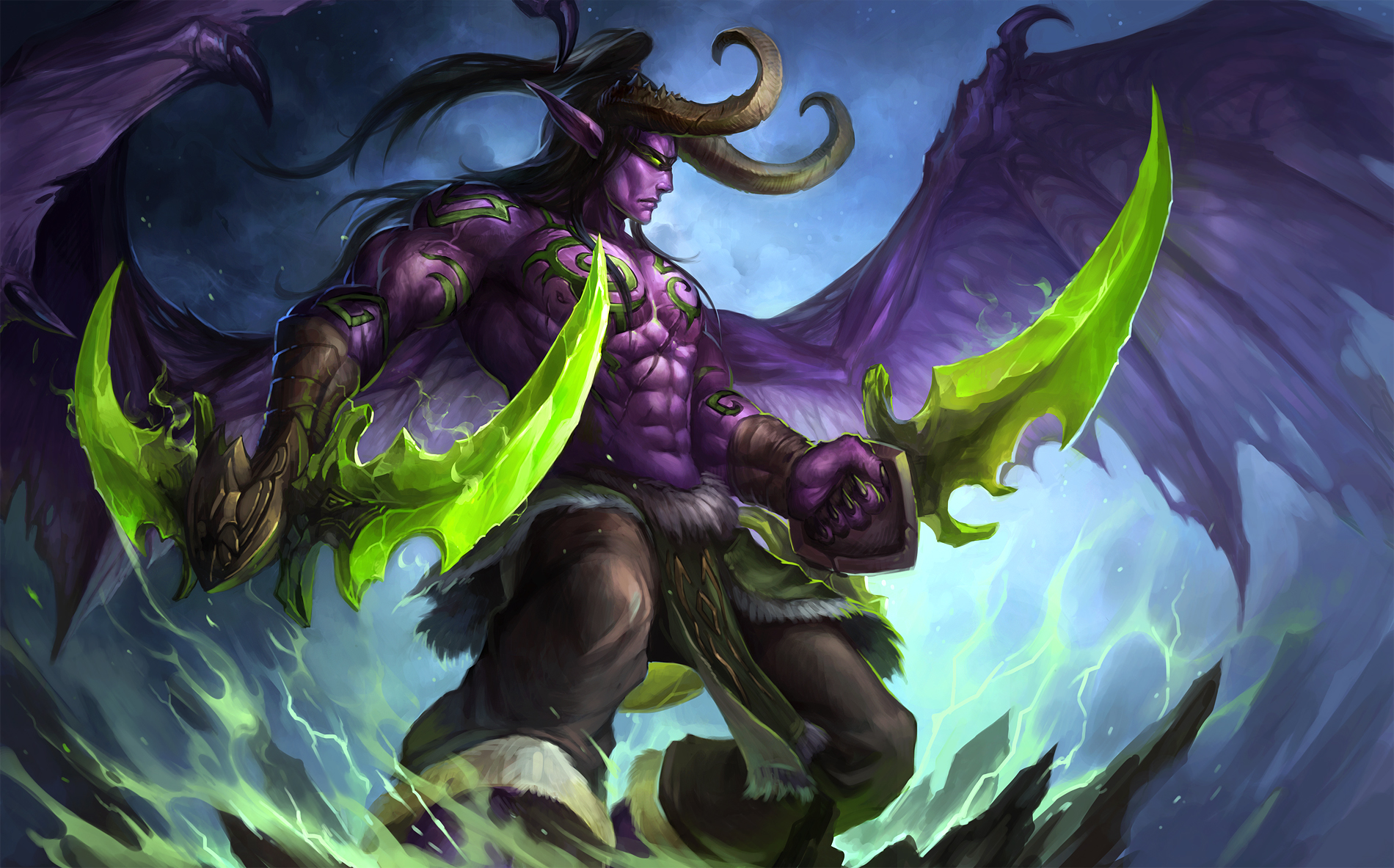 Illidan Stormrage 2 by sandara