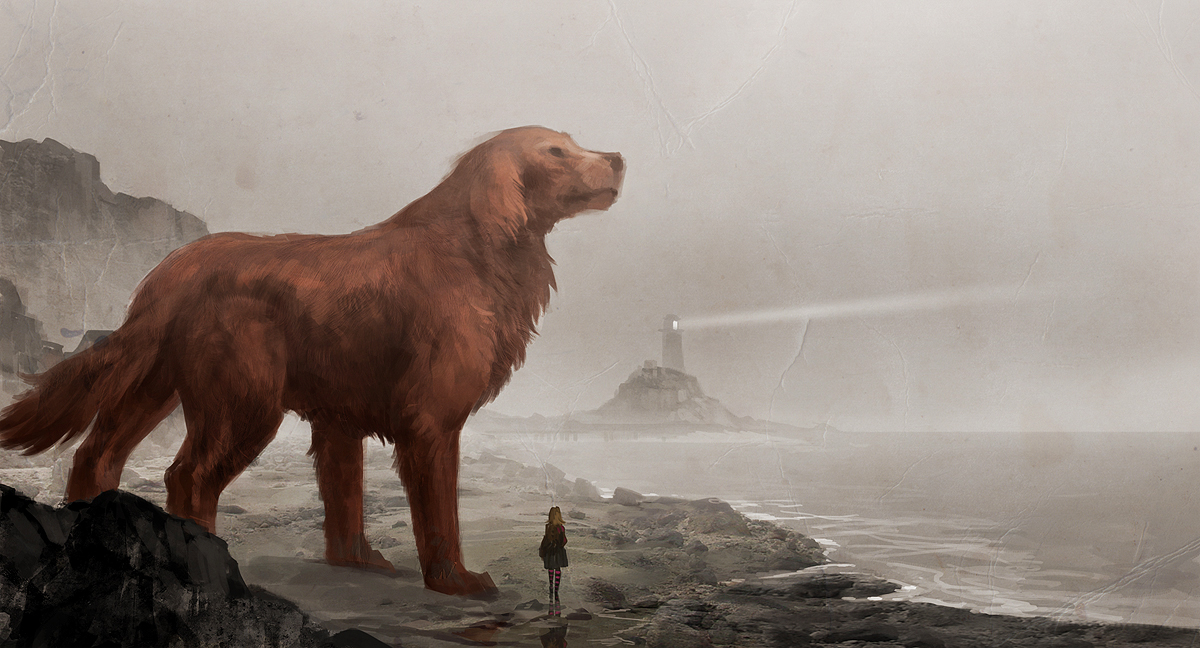 Clifford the big red dog by sandara