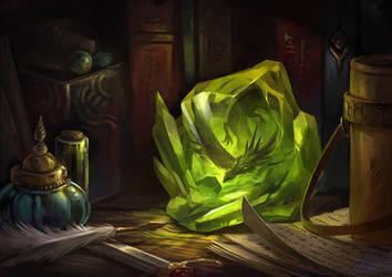 Crystallized Dragon