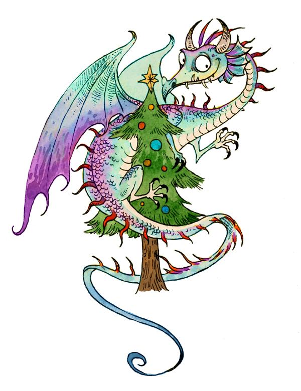 Christmas Dragon.Dragon Christmas 2 By Sandara On Deviantart