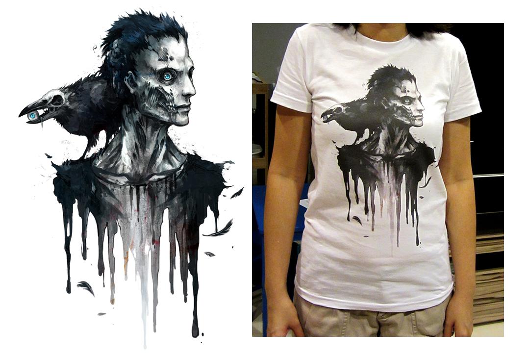 Zombie tshirt by sandara