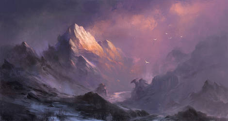 Mountains by sandara