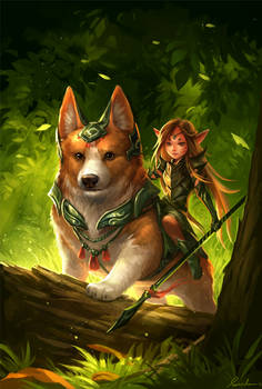 Corgi and fairy (updated)