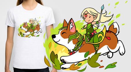 Corgi T-shirt / prints