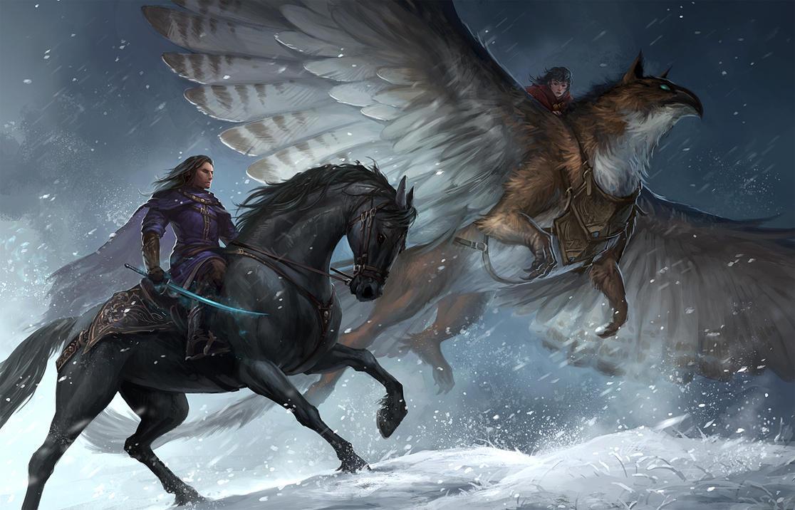 Riders by sandara