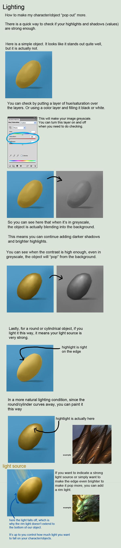simple lighting tutorial by sandara